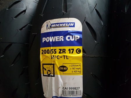 Michelin POWER CUP  200/55-17
