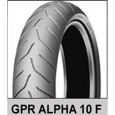 Dunlop GPR ALPHA-10 120/70-17